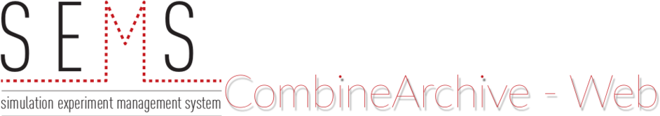 CombineArchive Toolkit: Web Interface